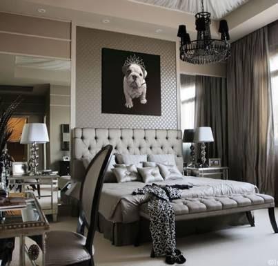 Elegant black and white bedroom | BEDROOMS BEDROOMS ...