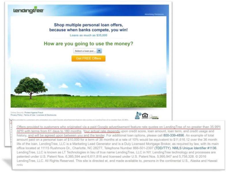 paydayloans google lendingtree adtermsenlarged 791x600