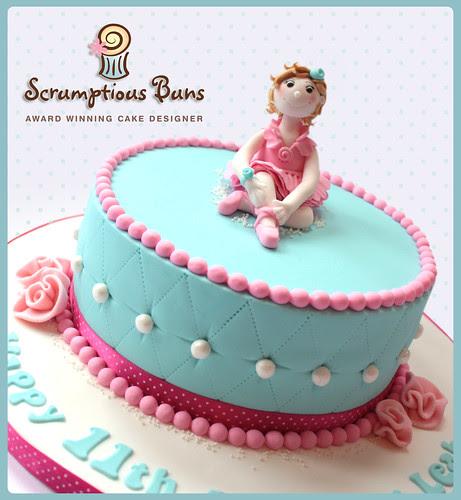Ballet Dancer Birthday by Scrumptious Buns (Samantha)