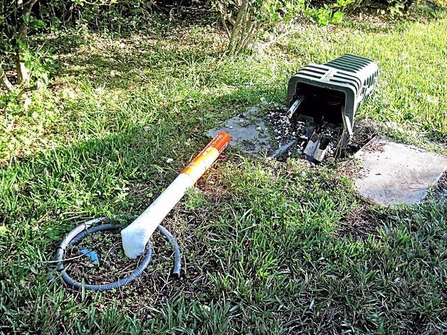 ORV user damage to utilities 20121202