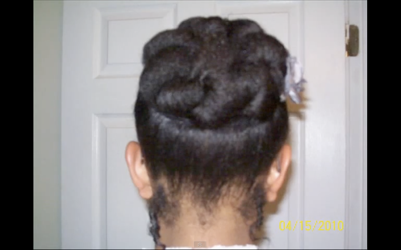 Quick & Easy Style for Short Natural Hair: The Bunned Updo | Black ...