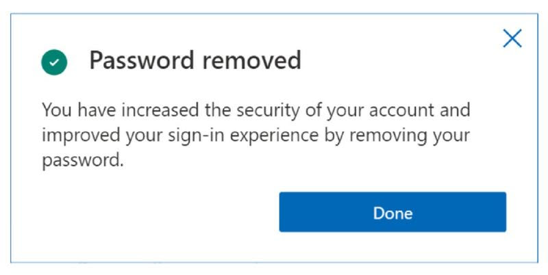 Microsoft adds a passwordless option for Microsoft accounts