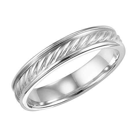 images of A MAN'S WEDDING BAND   Artcarved Twisted Rope