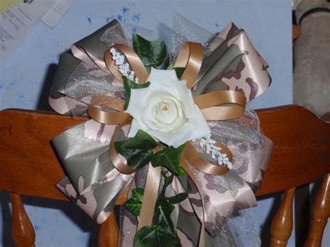 41 best images about camo wedding flowers on Pinterest