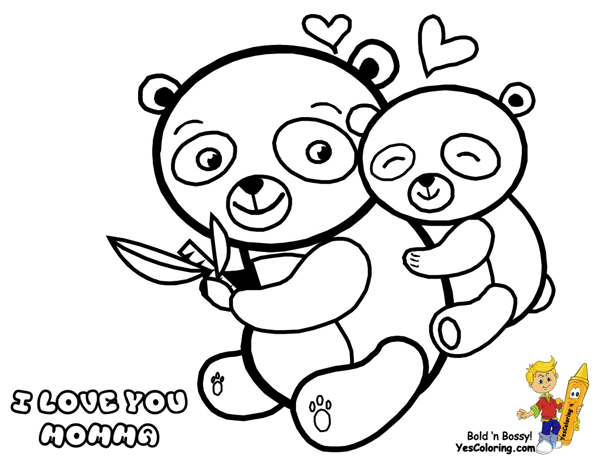 Coloring Pages Of Panda Coloring And Drawing