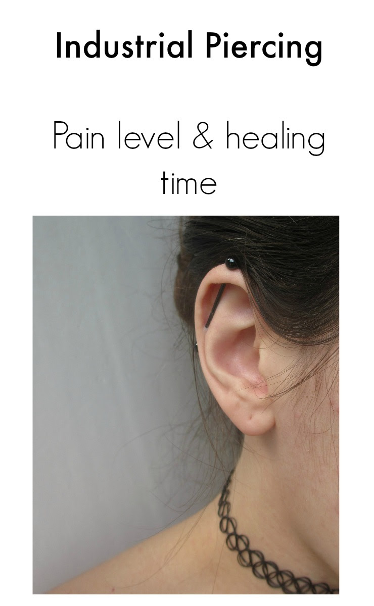 Industrial Piercing Pain And Experience