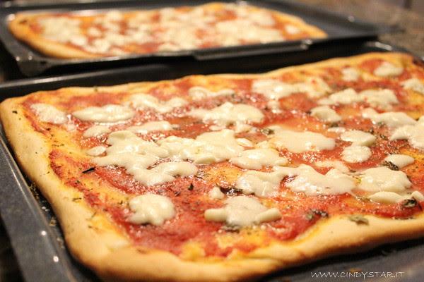 pizza sottile-cotta