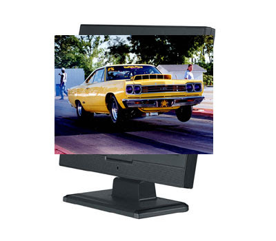 3D Computer Monitor Image image 3