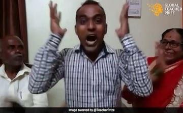 महाराष्ट्र शिक्षक $ 1 मिलियन जीतता है, कहते हैं कि फाइनल के साथ आधा हिस्सा लेंगे - Pure Gyan