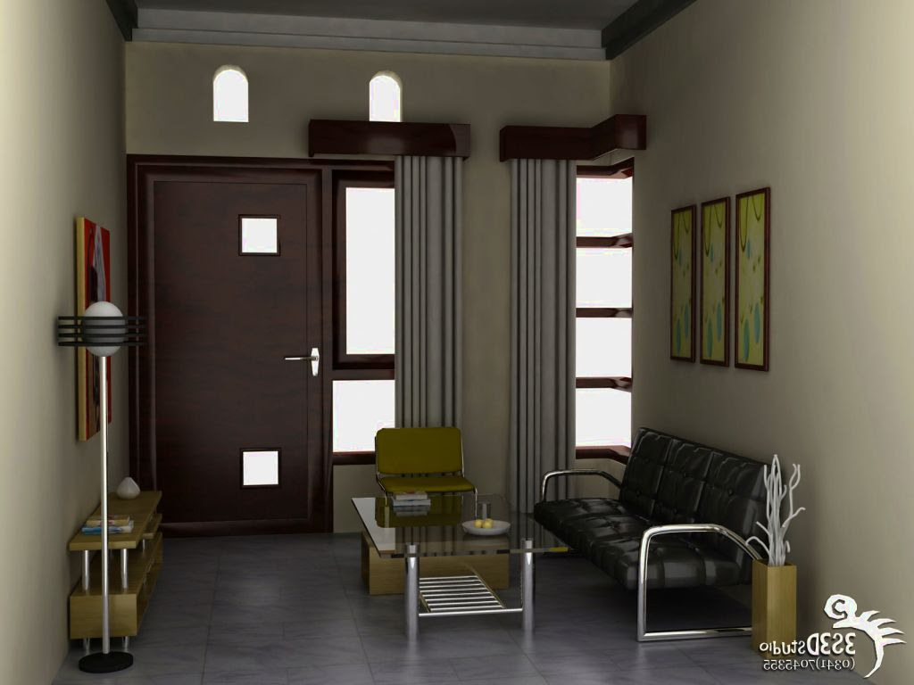 Desain  Ruang  Keluarga Ukuran  3x4  Gambar Desain  Rumah