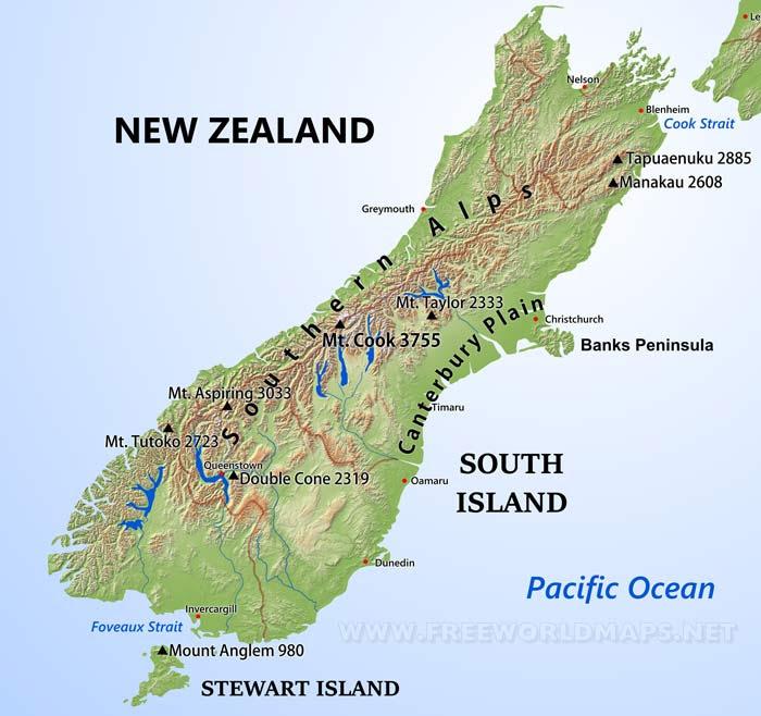 southisland newzealand