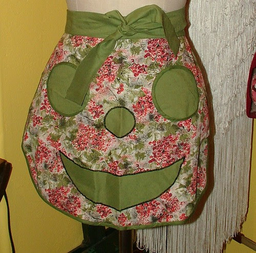 half apron for clothes pins