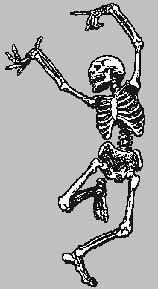 dancing skel
