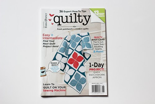 Quilty - Sept/Oct 2013 Issue by Jeni Baker