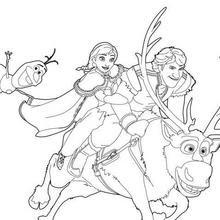 Dibujos Para Colorear Elsa La Reina De Las Nieves Eshellokidscom