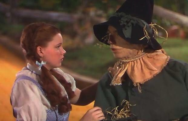 If I Only Had A Brain Video The Wizard Of Oz Ray Bolger Judy