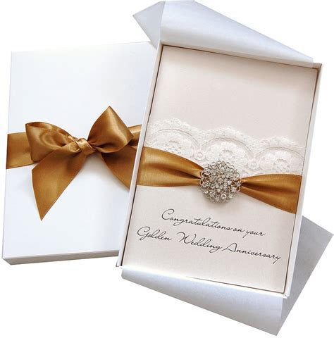 opulence personalised wedding anniversary card large by