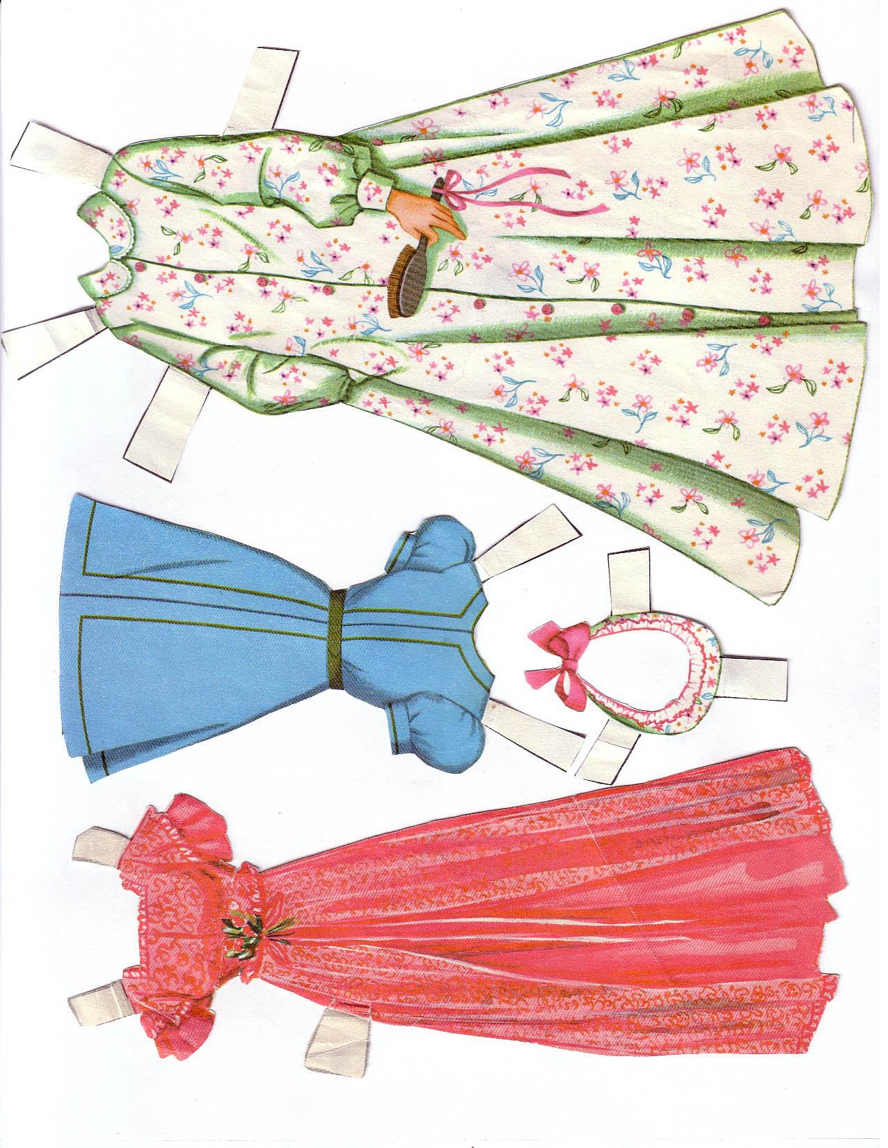 Hayley Mills - Summer Magic paper doll set (1963) 011