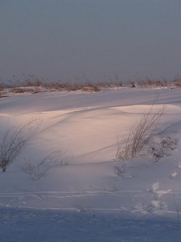 The aura of snow
