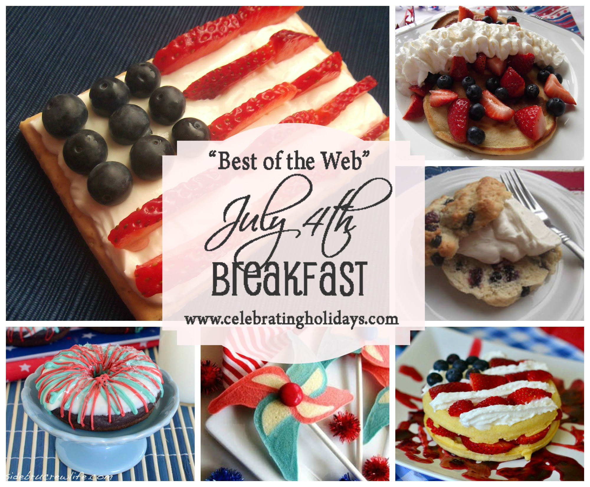 July 4th Breakfast Ideas And Recipes Celebrating Holidays