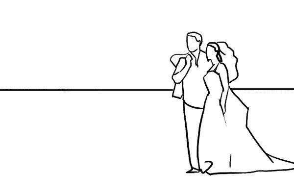 Позирование: позы для свадебной фотографии 8
