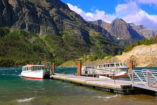 IMG_2093 Boat Dock, St. Mary Lake