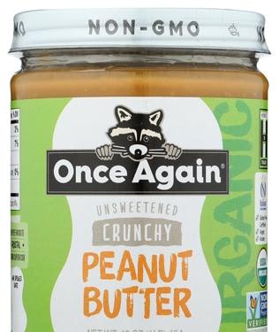 Once Again Peanut Butter Crunchy