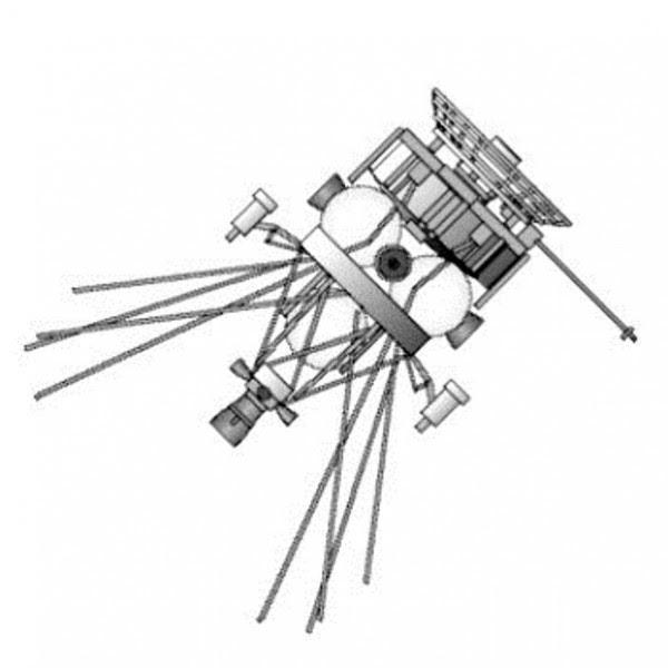 Concepción de un máximo de satélites cazadores satélite ruso