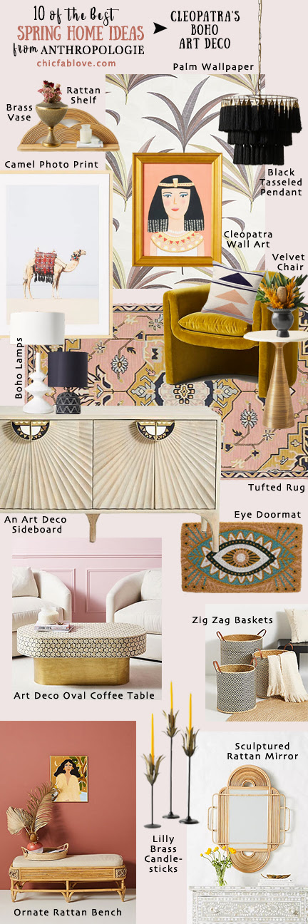10 Of The Best Spring Home Ideas From Anthropologie Chic Fab Love