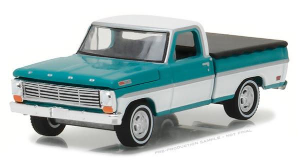 29924 - Greenlight 1969 Ford