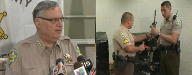 Maricopa County Sheriff Joe Arpaio is ramping up department firepower. (KTVK 3TV Phoenix)