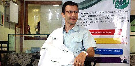 Márcio Palma disse que só percebeu se tratar de um ataque quando foi puxado para o fundo do mar / Foto: Diego Nigro/JC Imagem