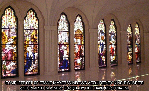 Church Stained Glass King Richards Liturgical Design And Contracting