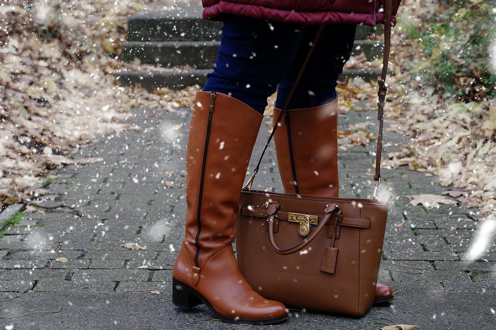 Große Größen Plus Size Fashion Blog sheego rote jacke snow schnee