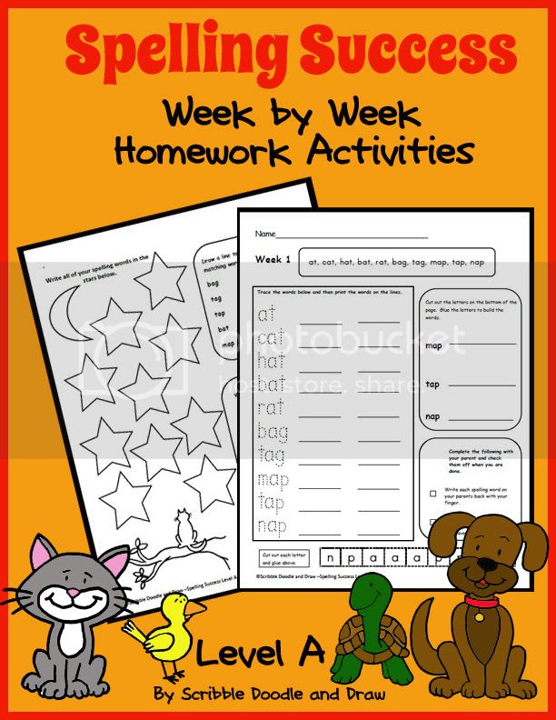 Grade 1 spelling worksheets