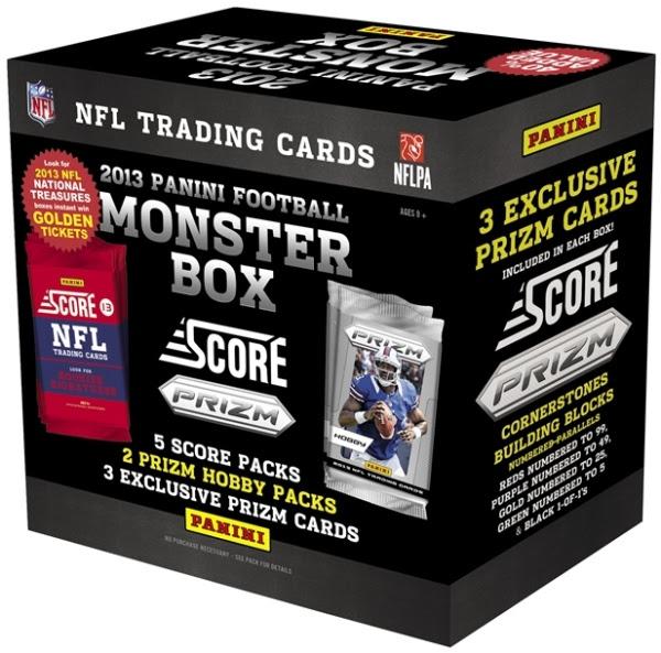 Panini America 2013 Prizm Football Monster Box