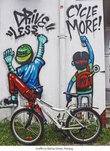 Penang bike graffiti
