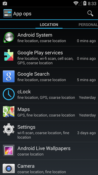 App Ops Lives On In Android 4.4, Can Now Deny Even More Permissions