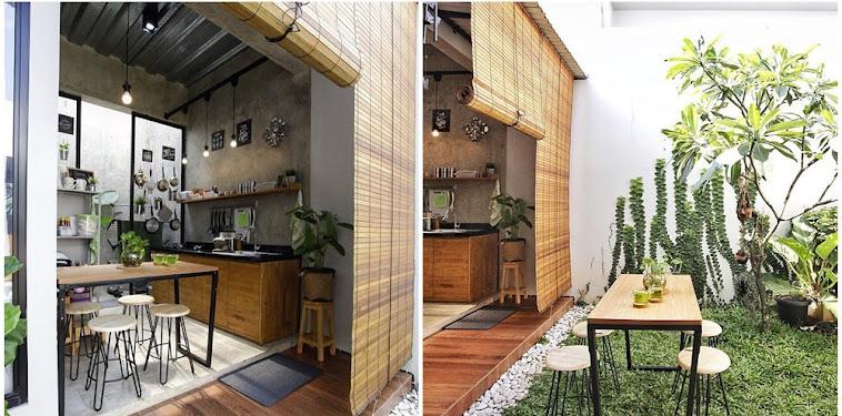Dekorasi Inspirasi Desain Dapur Outdoor Terbaru