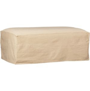 Slipcover Only for Lounge Ottoman and a Half in Ottomans, Cubes ...