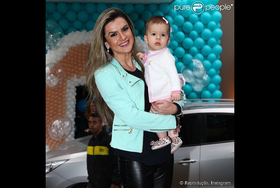 Mirella Santos Comemora 10 Meses Da Filha Valentina Amor