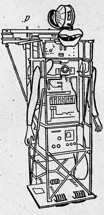 Bruce Lacey RosaBosom robot Rosabosom Illus p1 x640 1965   ROSA BOSOM   Bruce Lacey (British)