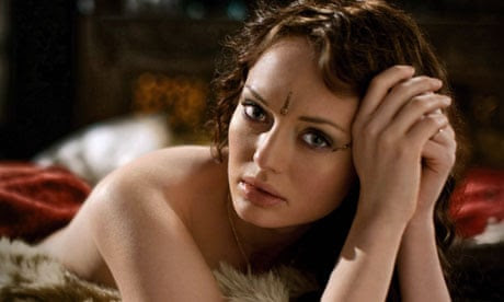 Laura Haddock in Da Vinci