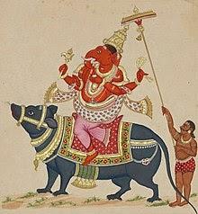 De muis bij Ganesha