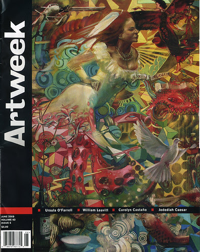 Artweek cover