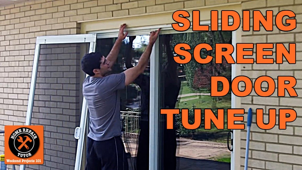 Sliding Screen Door: How Do You Remove A Sliding Screen Door