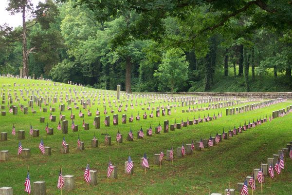 Shiloh National Cemetery (Civil War), Tennessee