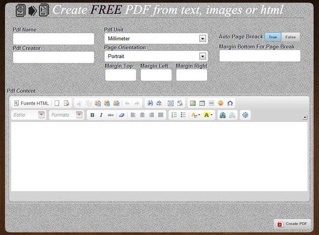 PDF Maker App