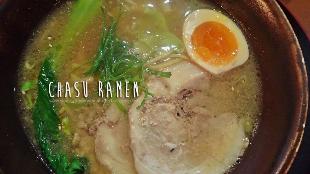 Chasu Ramen at Shitamachi