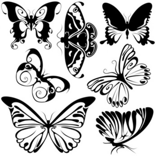 celtic butterfly tattoo design